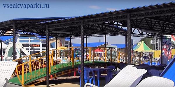 Инфраструктура аквапарка Оазис