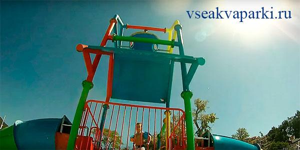 Детский комплекс в Дельфине