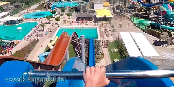 Горки аквапарка