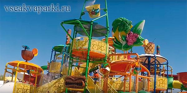 Фото детского комплекса Банановой респулики